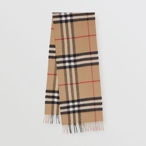 Authentic Classic Check Burberry Scarf